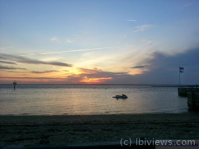 sunset-5-25-15 - North Beach Haven