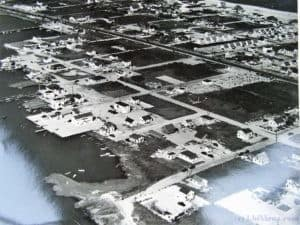 Aerial view of North Beach Haven, NJ - Late 1940's or early 1950's