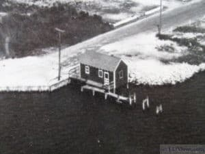A house on the Bay in North Beach Haven in the 1950's