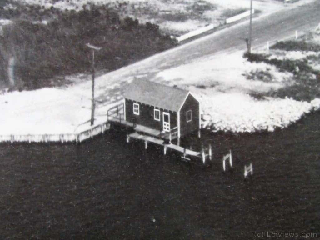 House over the water - North Beach Haven 1950's