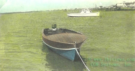 Wooden Boat - North Beach Haven - 1940's