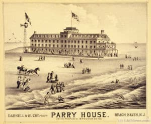 The Parry House - Photo courtesy of the National Oceanic and Atmospheric Administration Central Library