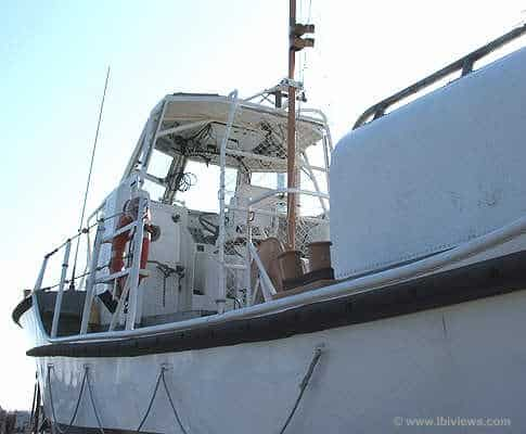 Coast Guard Motor Lifeboat 44355 Port Side View