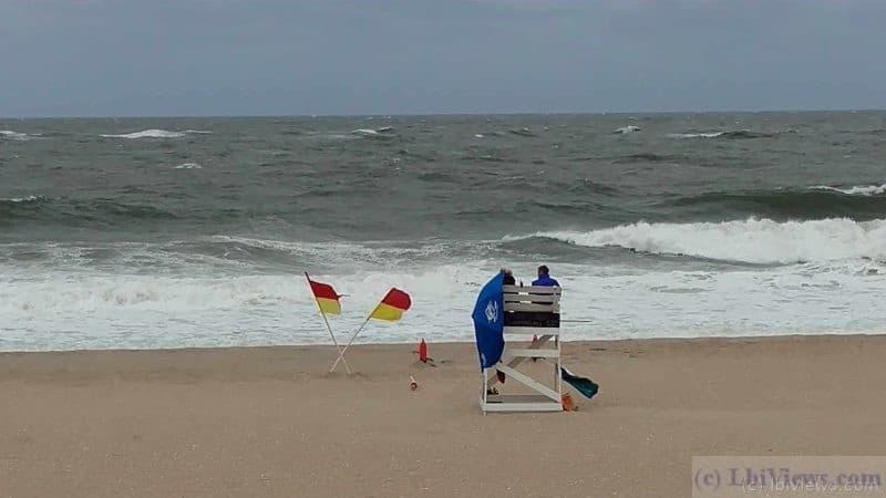 Rough Ocean in Beach Haven Sept 2016