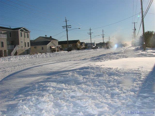Snowfall December 2010