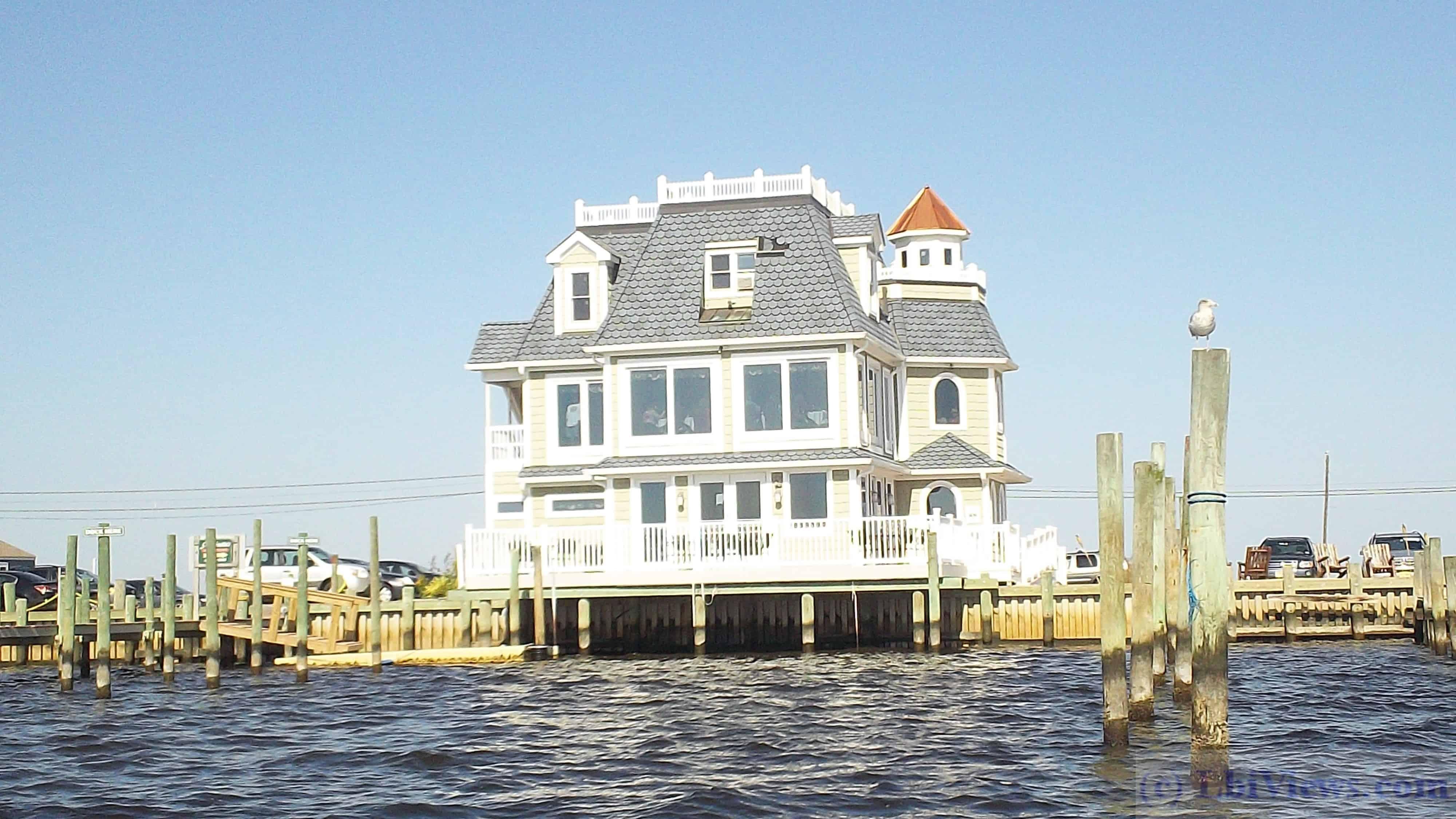 Antoinetta's Restaurant on the bay in West Creek NJ