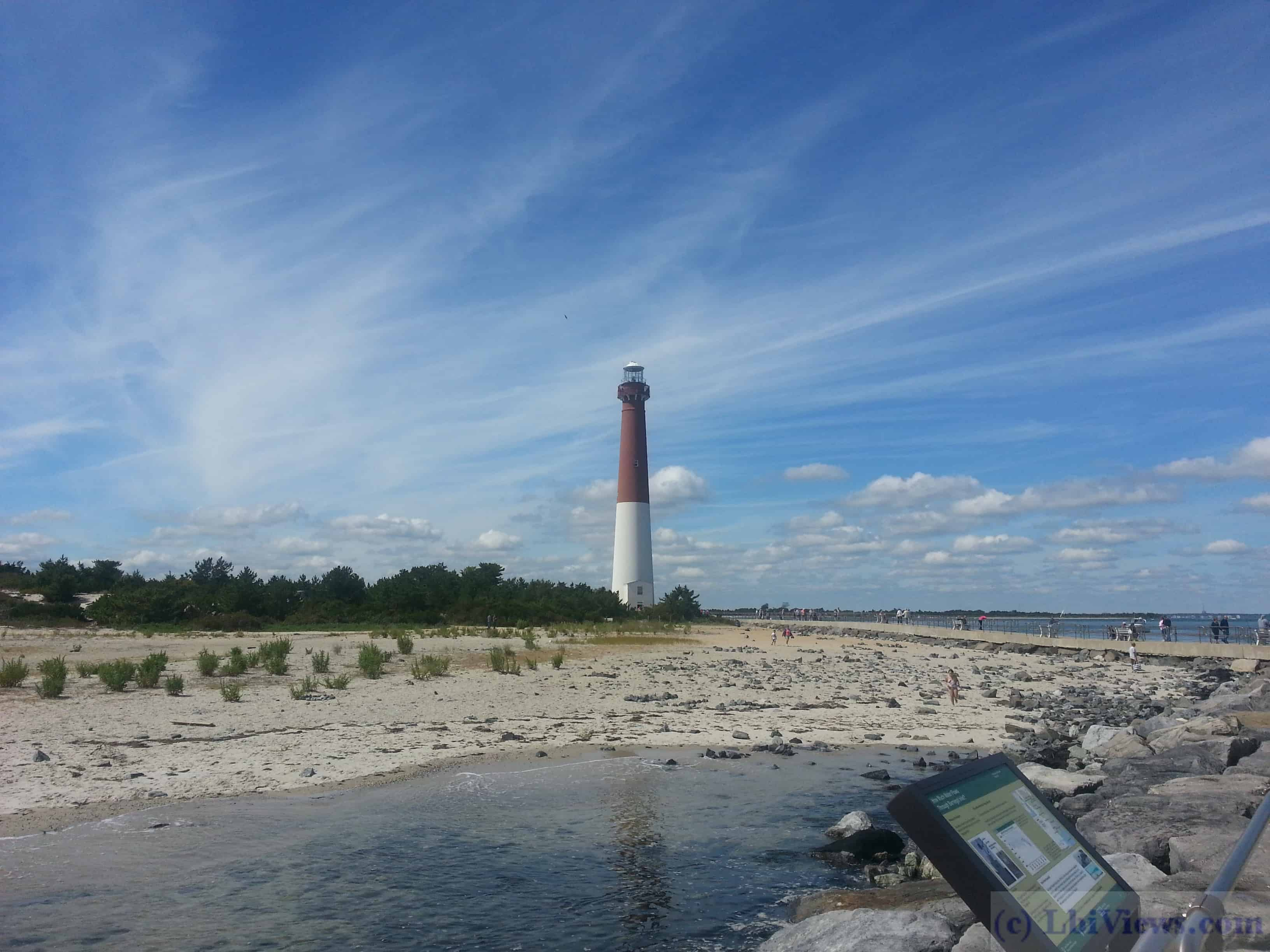 Barnegat Lighthouse from the Jetty