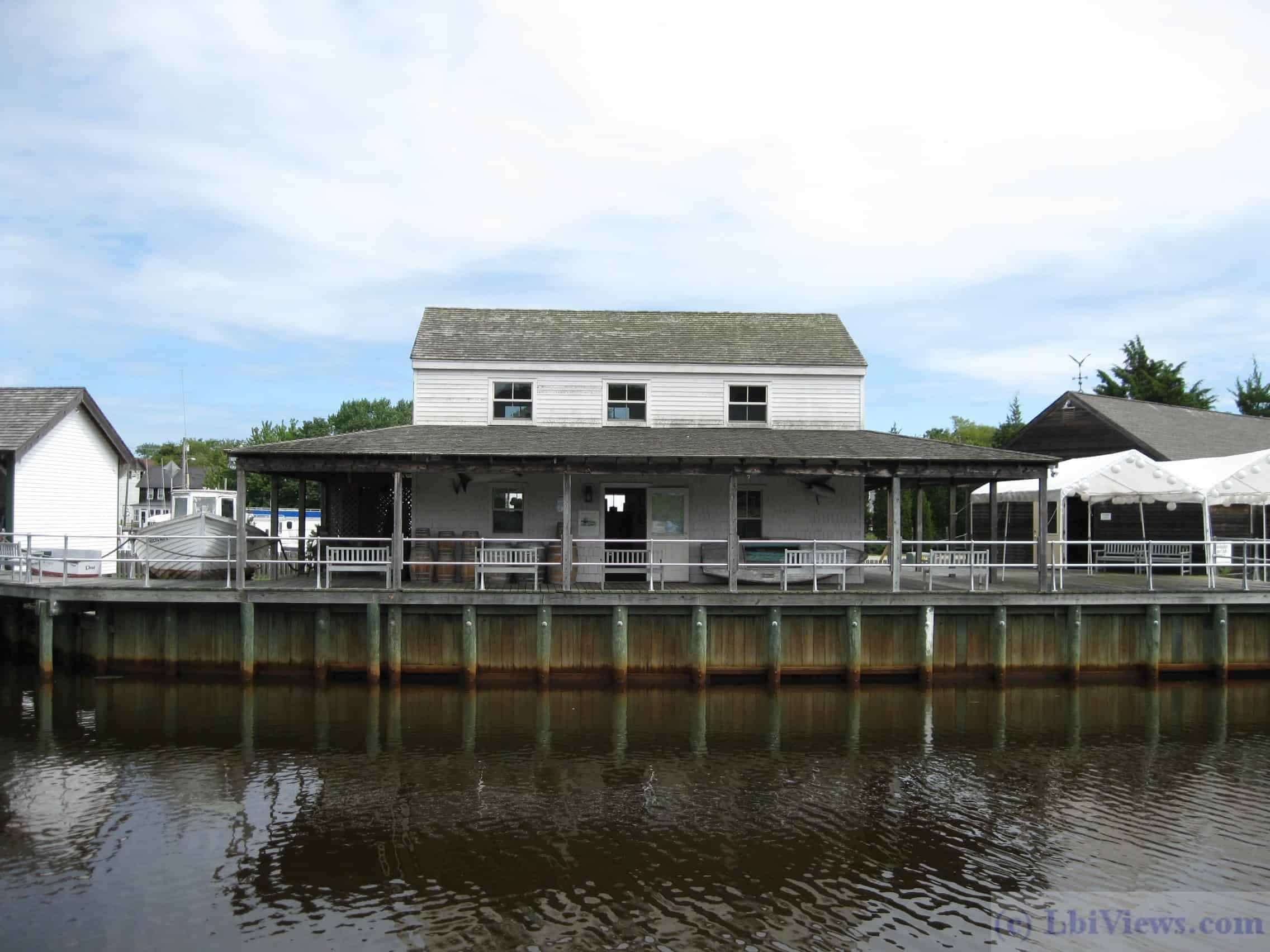 A recreation of the Hotel de Crab at Tuckerton Seaport. The original hotel was on Dock Street in Beach Haven
