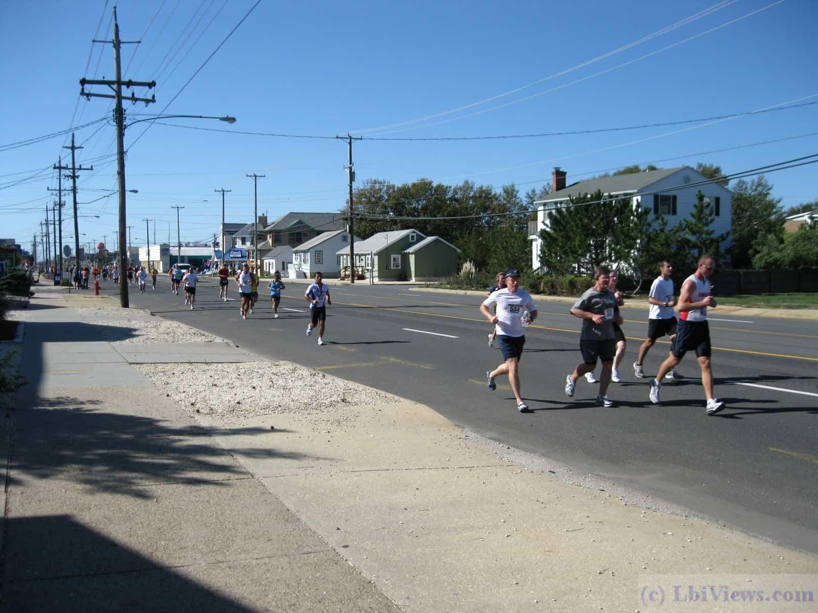 Long Beach Island 18 mile run