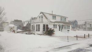 Snowstorm, North Beach Haven NJ - Jan 4 2018
