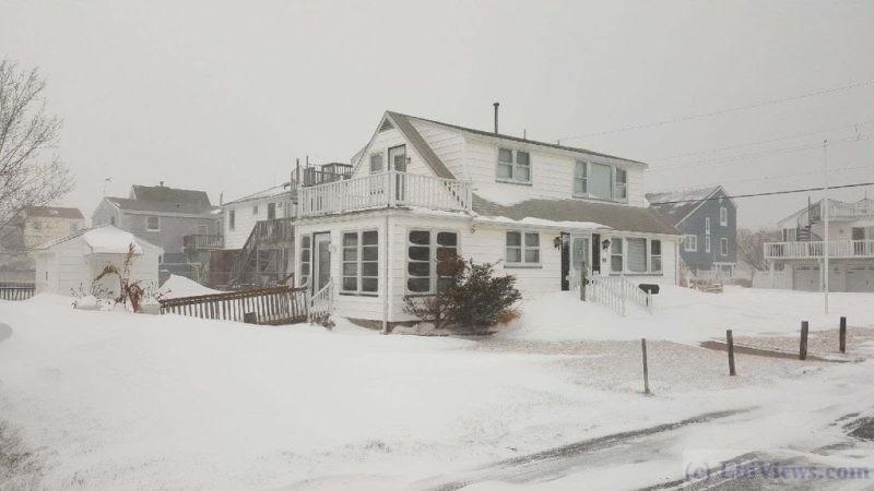 Snowstorm North Beach Haven Jan 2018