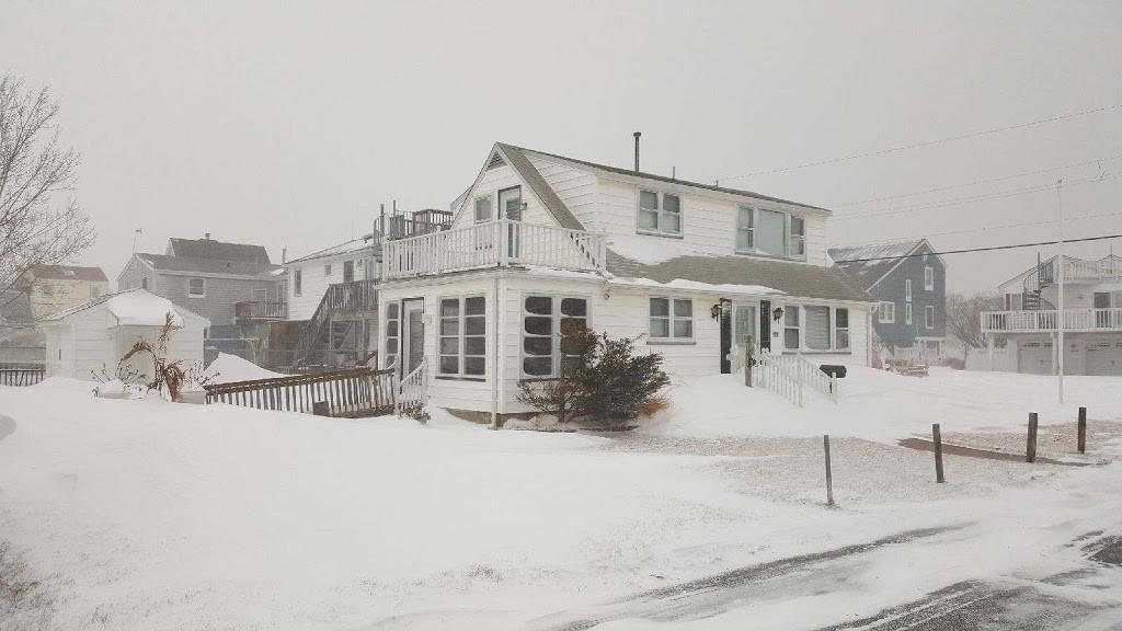 Snowstorm North Beach Haven Lbi January 4 2018 Lbi Views