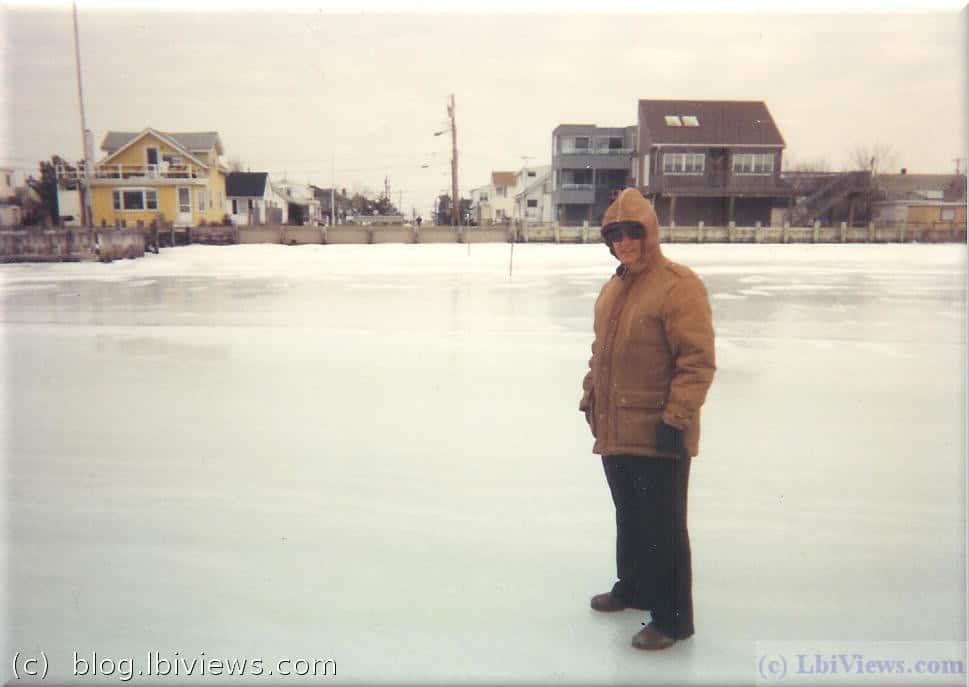 Frozen bay - 1990's - North Beach Haven