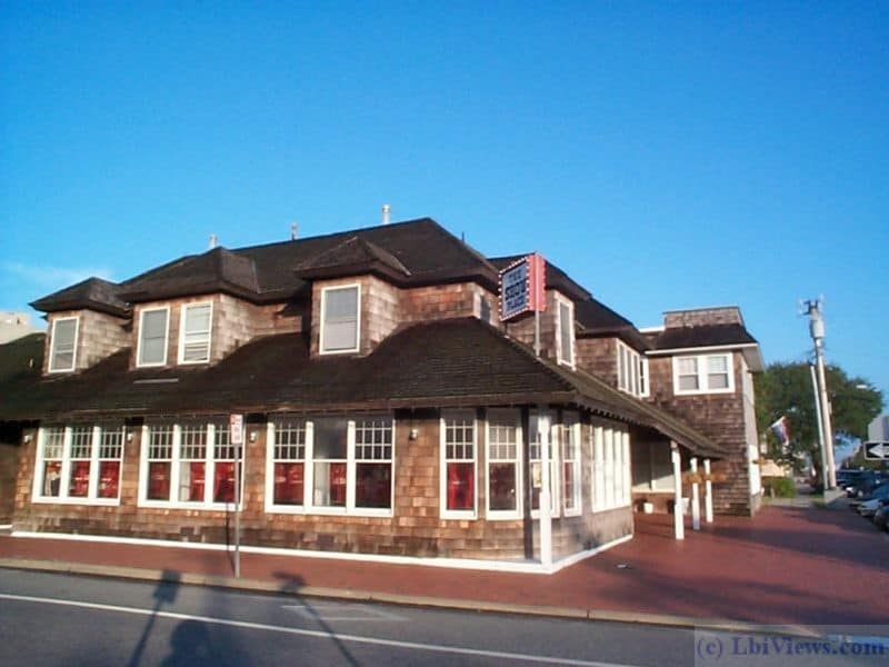 The Showplace restaurant in Beach Haven