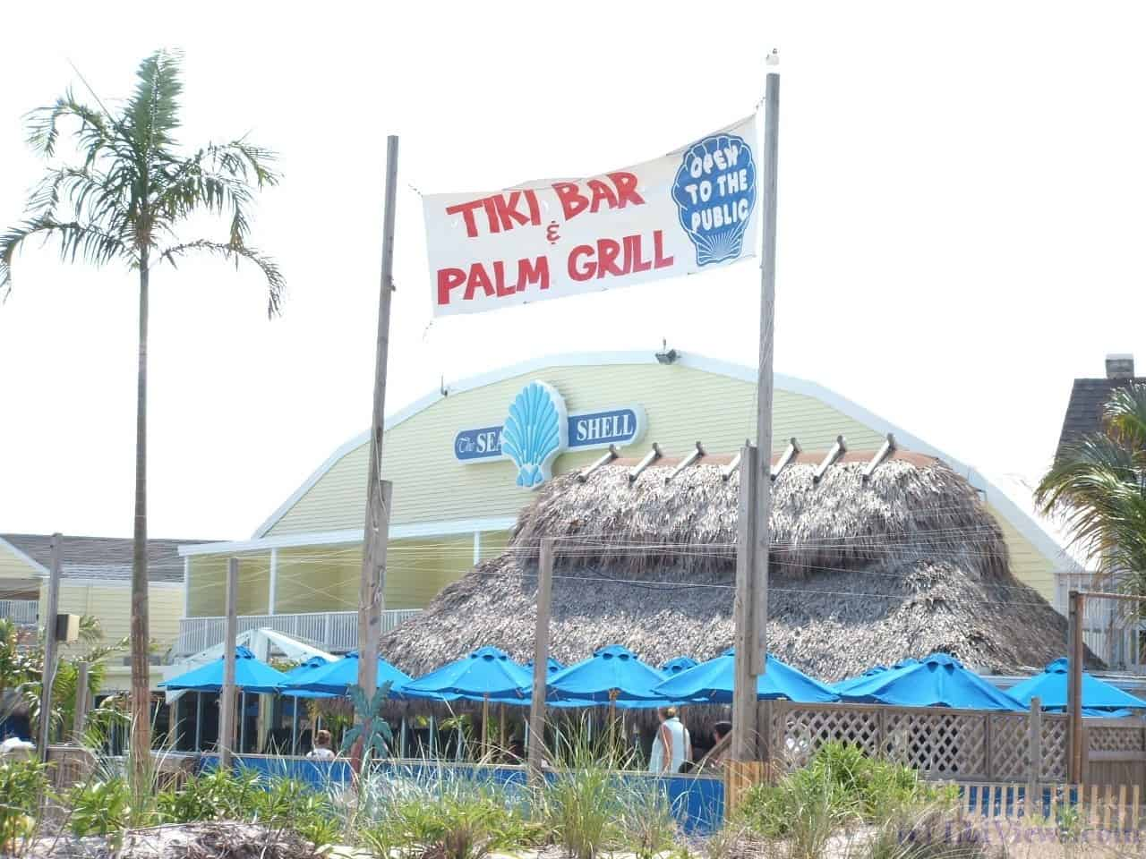 The Tiki Bar and Palm Grill at the Seashell