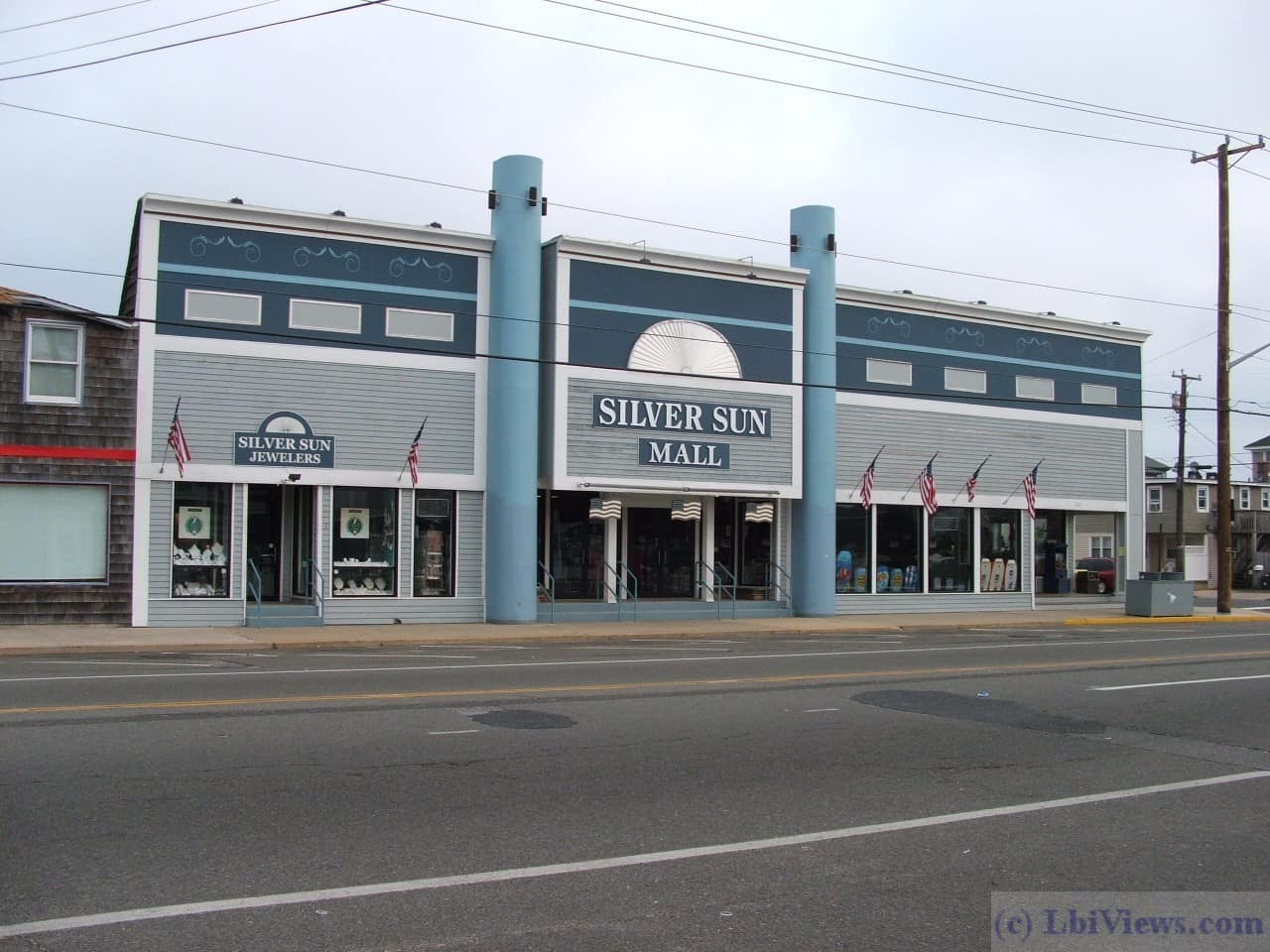 The Silver Sun Mall in Beach Haven, Formerly Koseff's Department Store