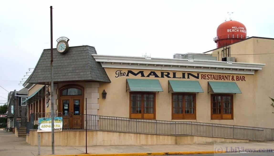 The Marlin Restaurant And Bar In Beach Haven Lbi Views