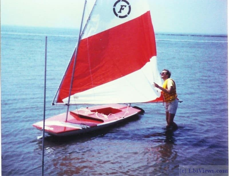 The Wahoo - the sailboat that thought it was a submarine