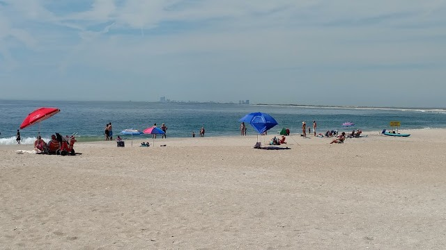The beach at the south end of Long Beach Island in Holgate.