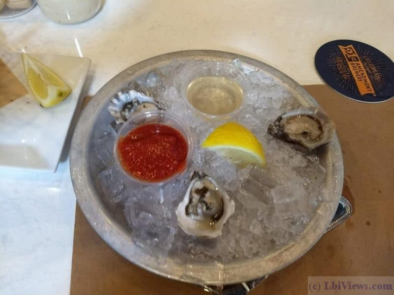 Delaware Avenue Oyster House Oysters