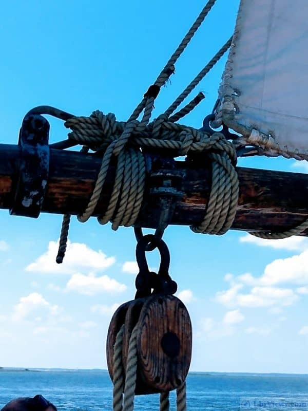 Block and Tackle on the AJ Meerwald