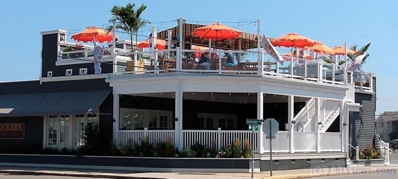 Bouy Bar - Rooftop bar at Tucker's Tavern in Beach Haven