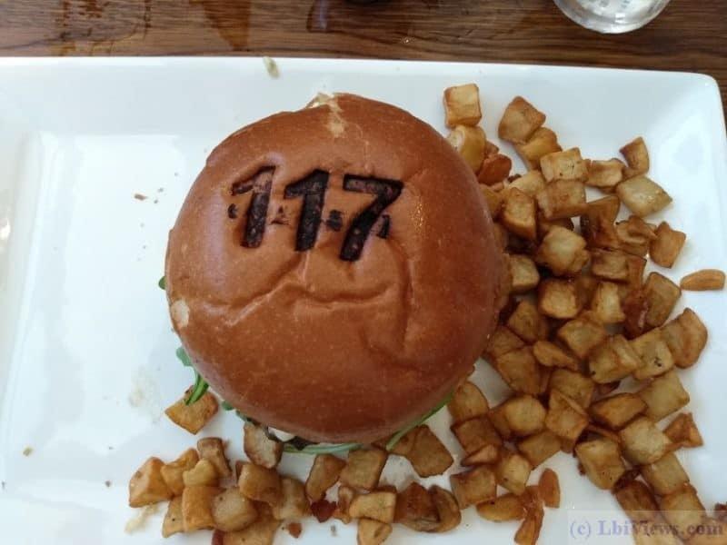 Station 117 Burger