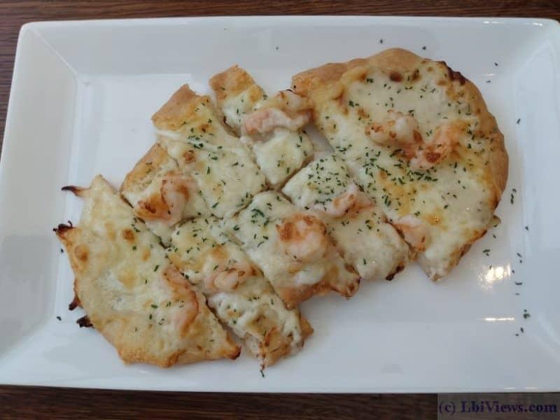 Flatbread Pizza at Station 117