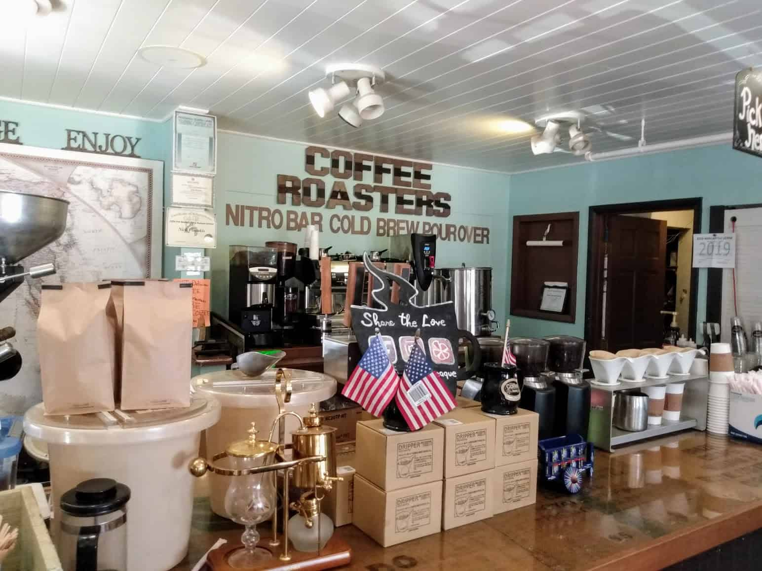 The Coffee Bouteaque in Beach Haven