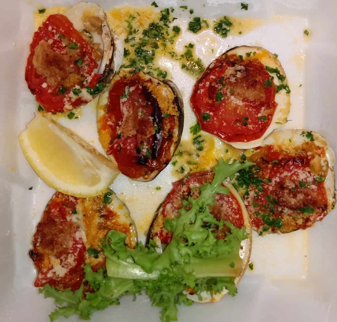 Clams Casino at the Clam Bar in Beach Haven