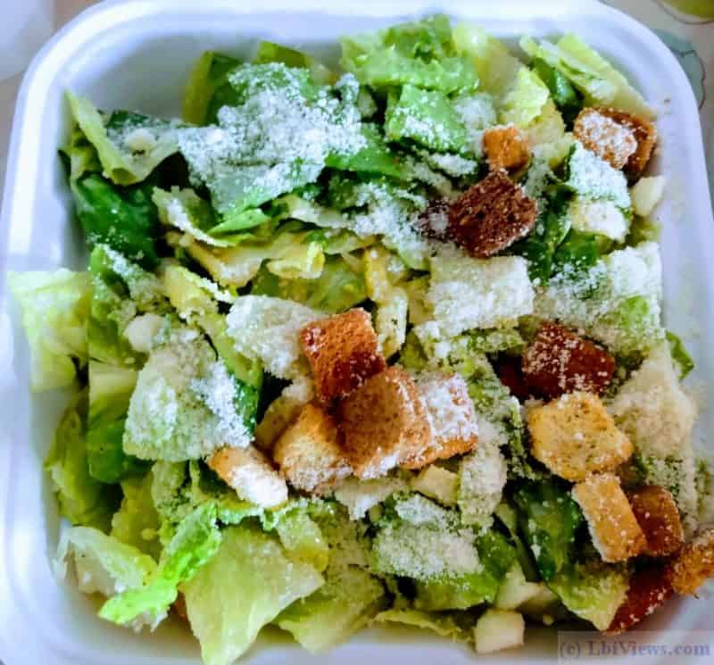 Caesar Salad at the California Grill