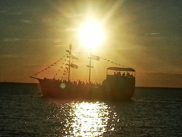 The Black Pearl at Sunset Aug 2013
