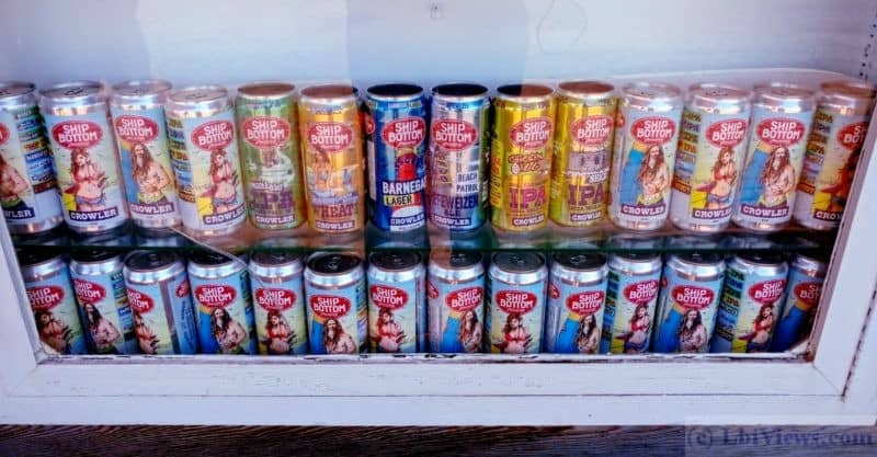 Ship Bottom Brewery Cans