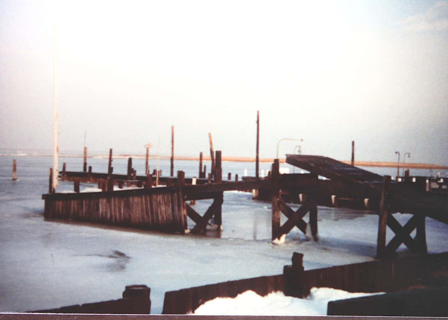 Ice Damage North Beach Haven 1982