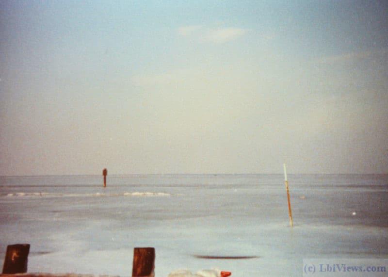 Frozen Bay LBI 1982