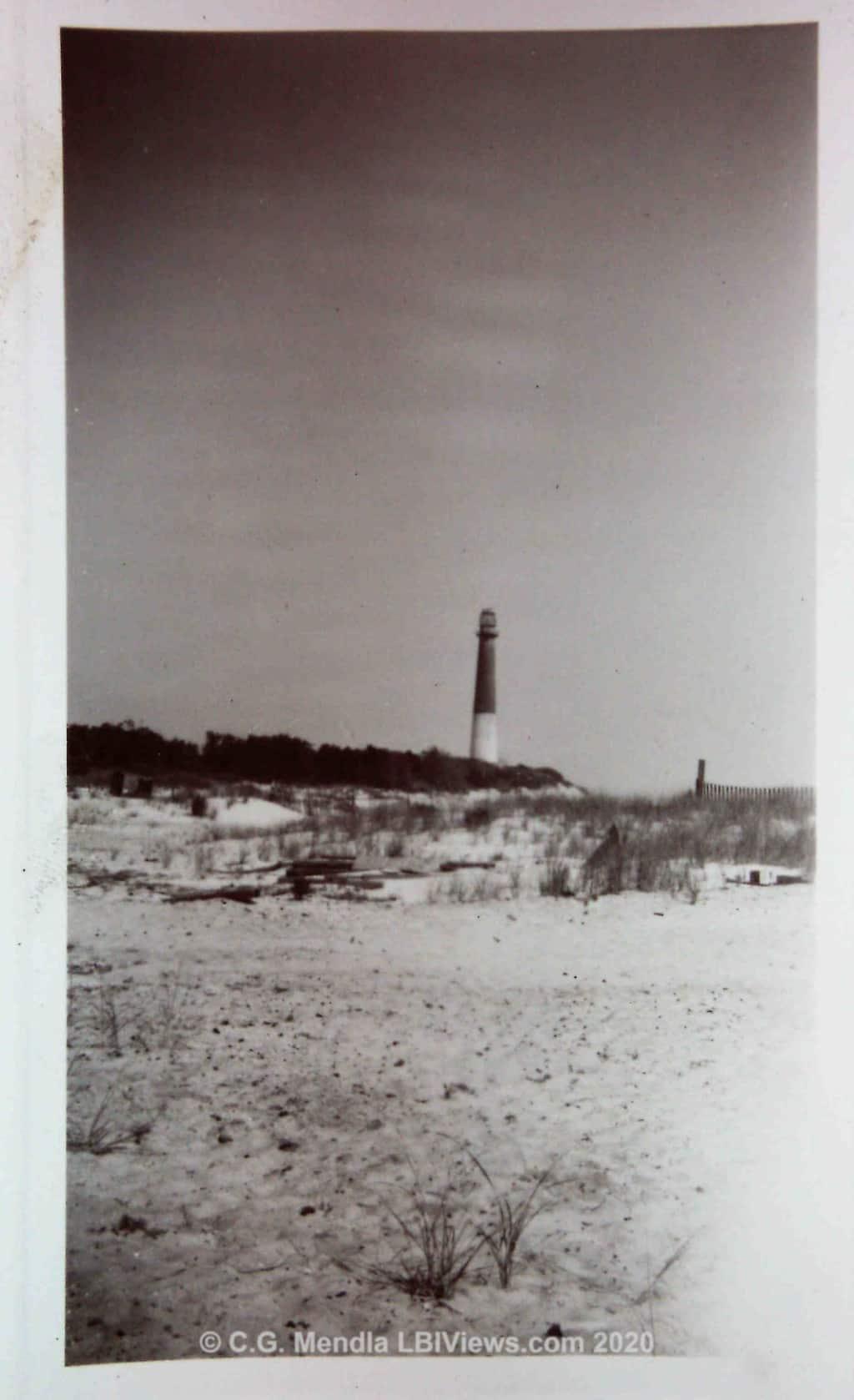 Barnegat Lighthouse. Late 1940's