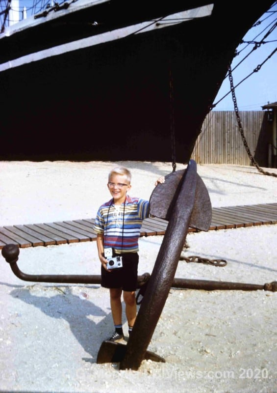 Lucy Evelyn Beach Haven 1960s Bow and Anchor