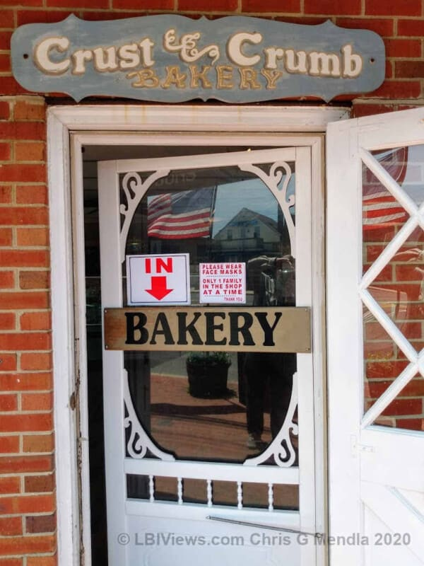 Crust and Crumb Bakery in Beach Haven - Covid operations