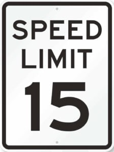 Long Beach Township is lowering speed limits to 15 MPH on the ocean roads