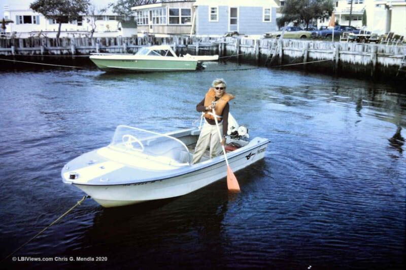 14' Crestliner and a Cobia - North Beach Haven - 1970s