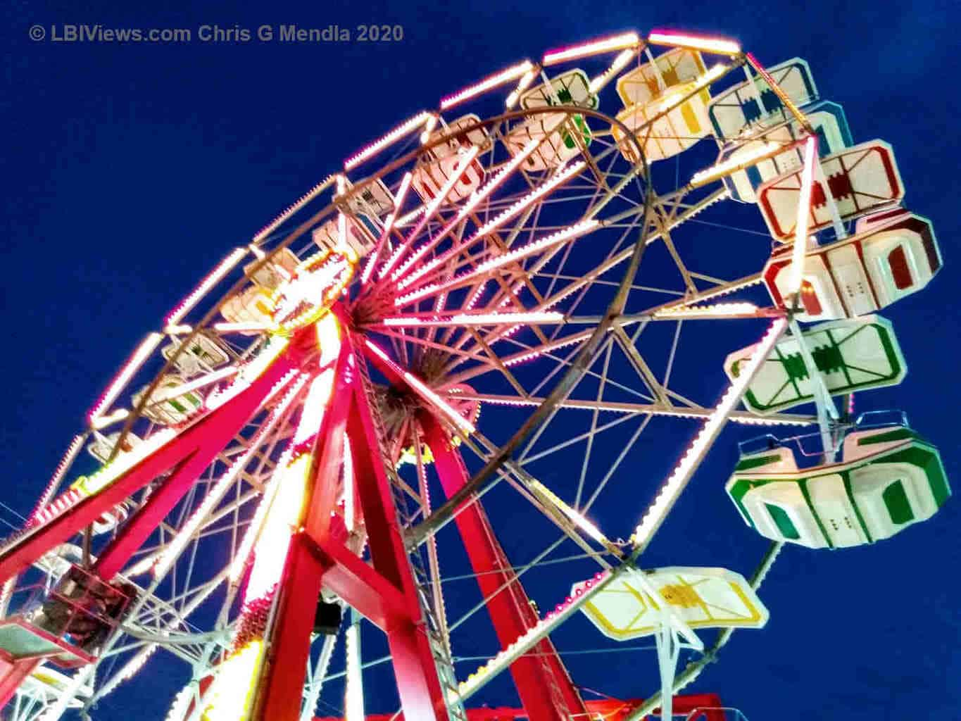 Ferris Wheel - Fantasy Island in Beach Haven on LBI 2020