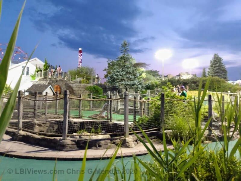 Settlers Mill Mini Golf Beach Haven July 2020