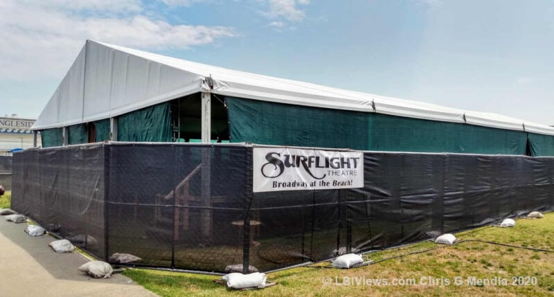 The Surflight Theater - Outdoor Shows under a tent