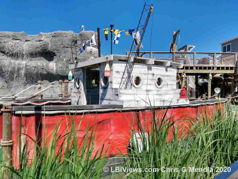 Jen's Links mini golf - Barnegat Light NJ - Trawler